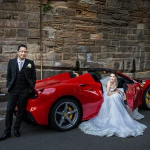 Sydney Ferrari Wedding