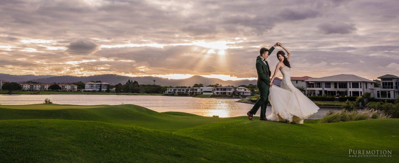 Hope Island Links Wedding