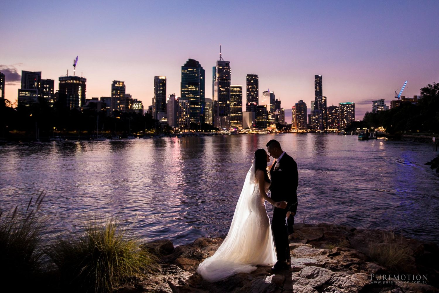 Brisbane River Pre-Wedding Photography